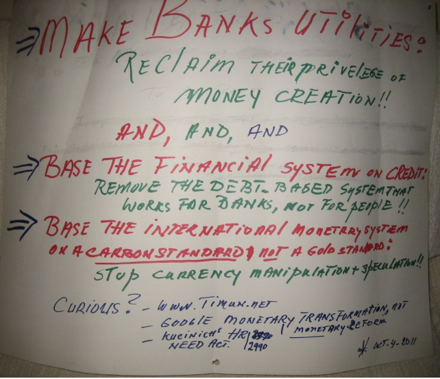 photo of poster Make Banks Uitilities ...