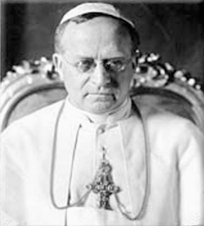photo of Pope Pius XI