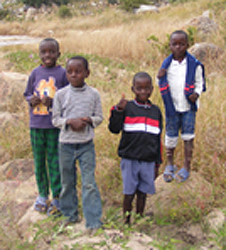 photo of four young boys