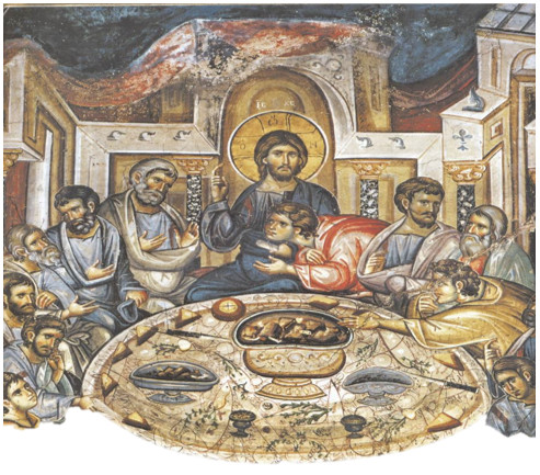 artistic depiction of the Last Supper
