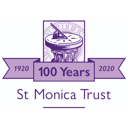 St Monica's Trust Logo - Connection Coalition