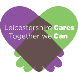 Leicestershire Cares logo - Connection Coalition