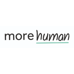 More Human Logo - Connection Coalition