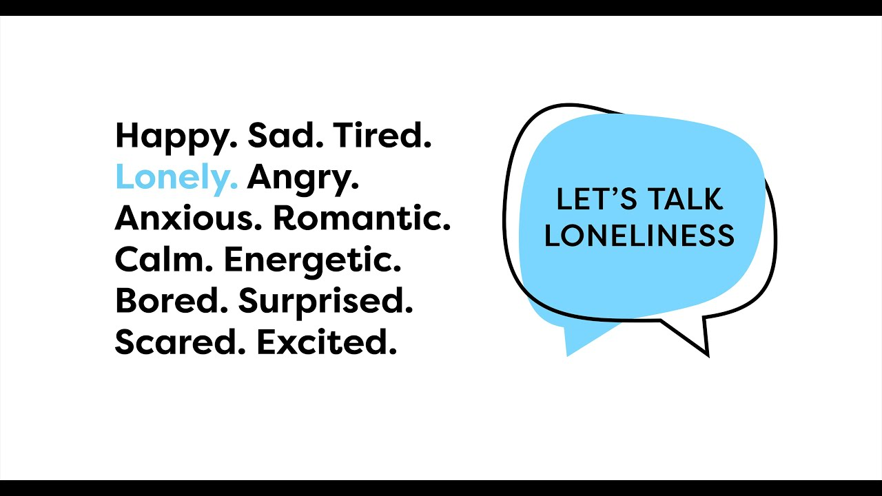 Let's Talk Loneliness Logo - Connection Coalition