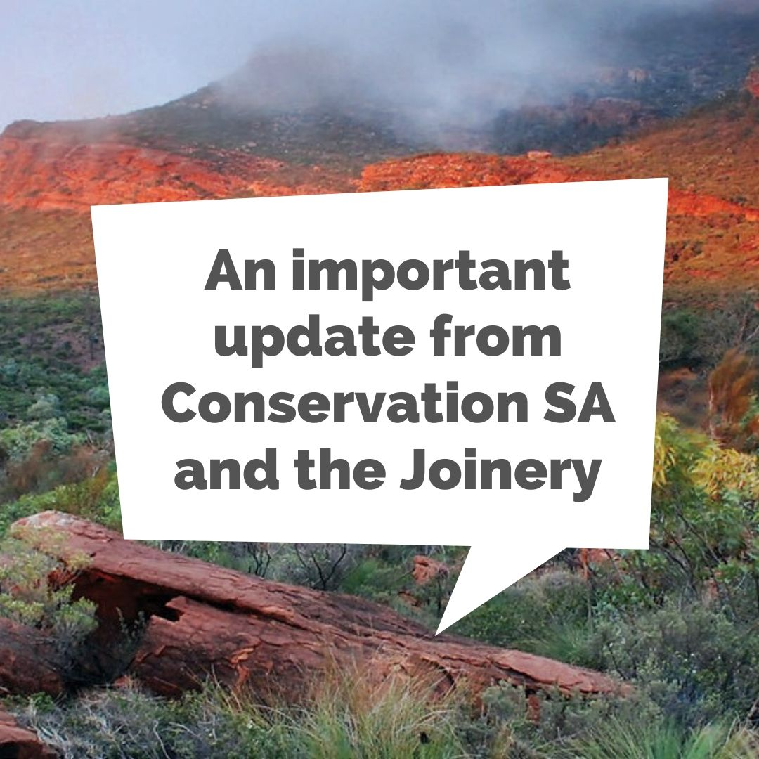 A special update from your Conservation SA - Covid-19