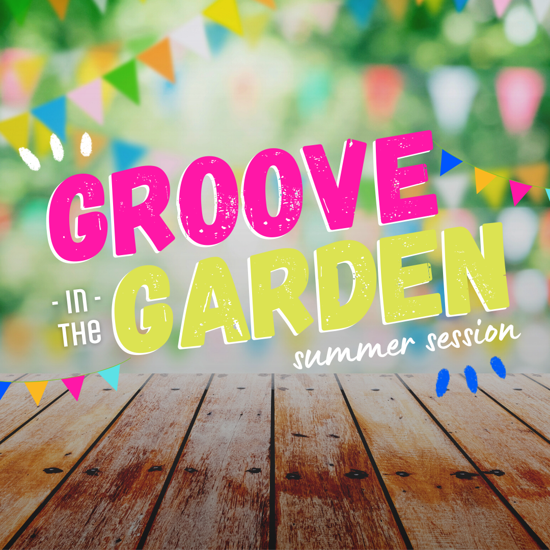 Groove in the Garden is back in 2021!