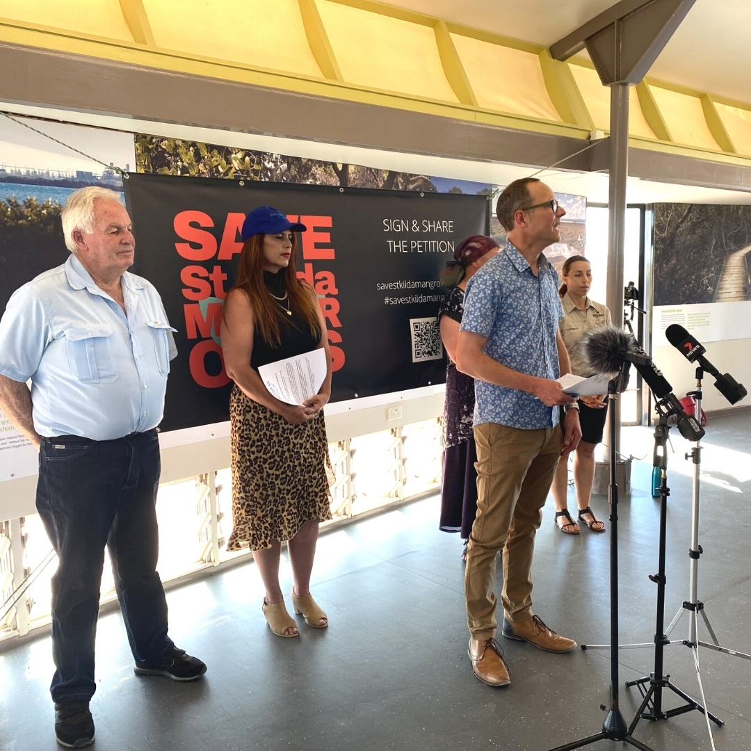 St Kilda Mangroves Alliance launched