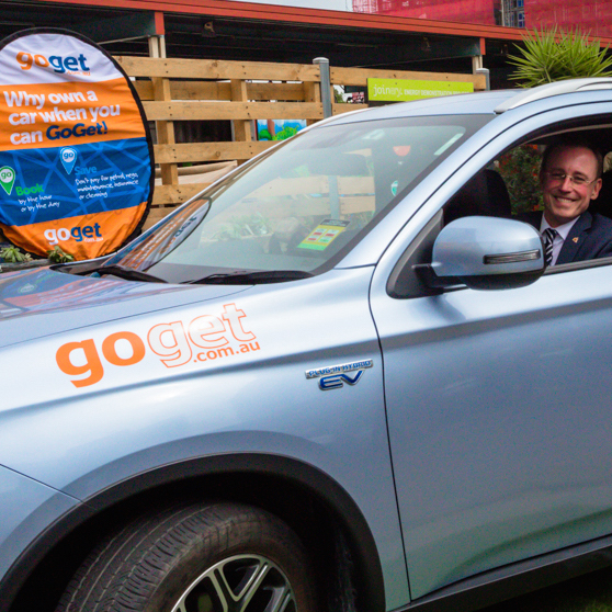 Test drive our electric share car