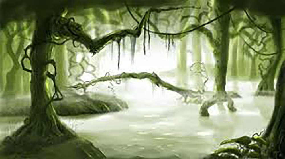 scary swamp