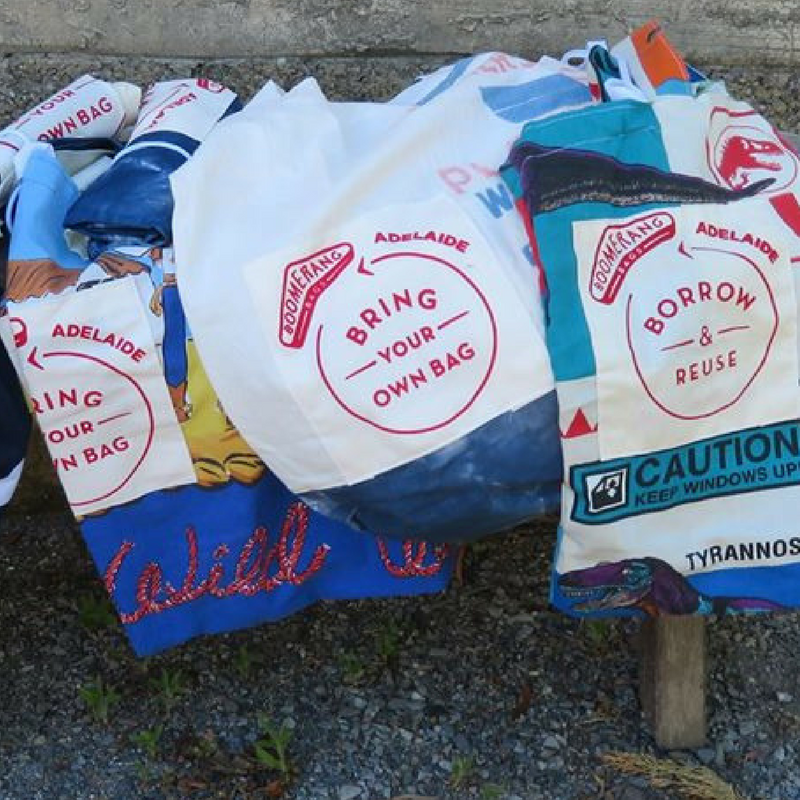 Sew sustainable with Boomerang Bags