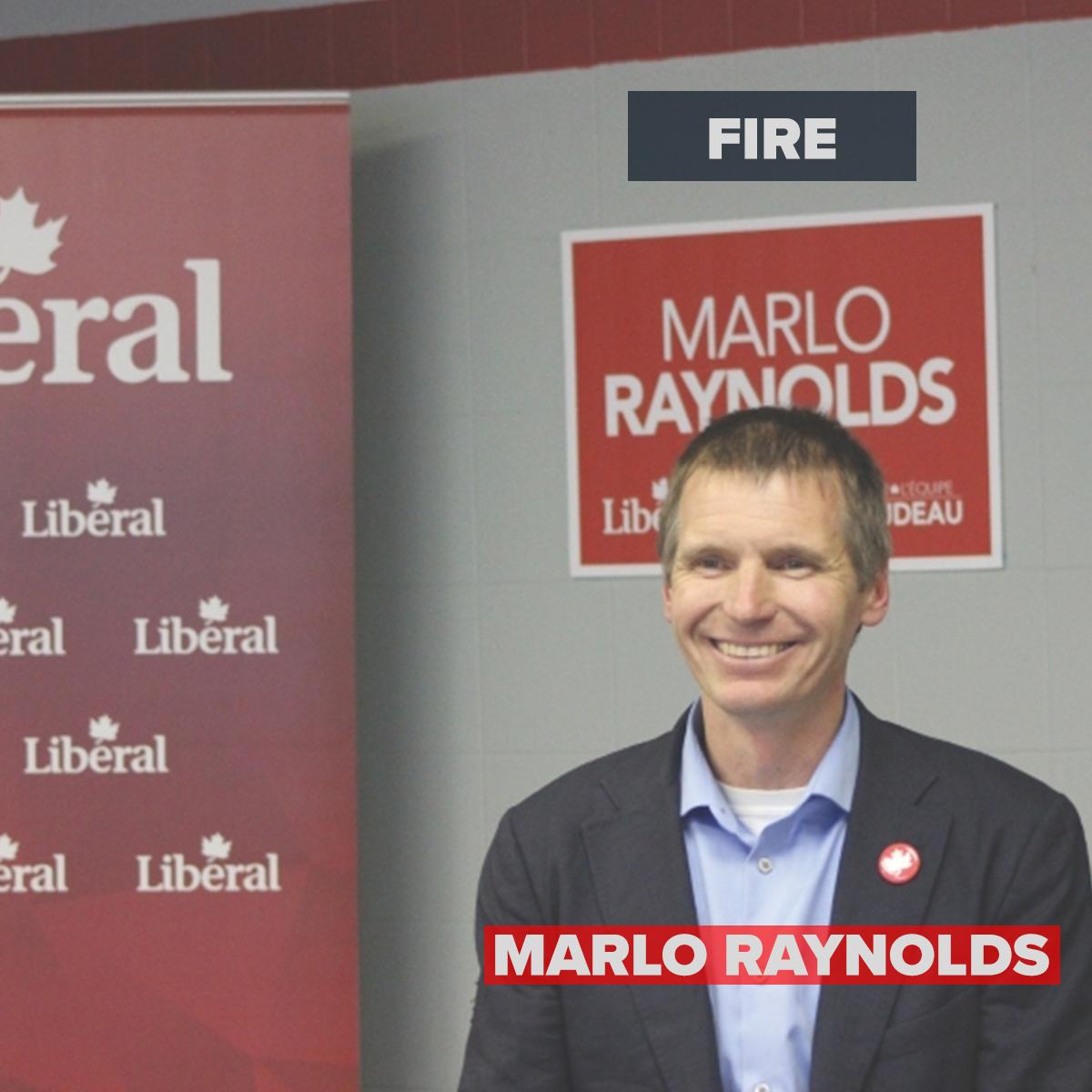 Fire Marlo Raynolds