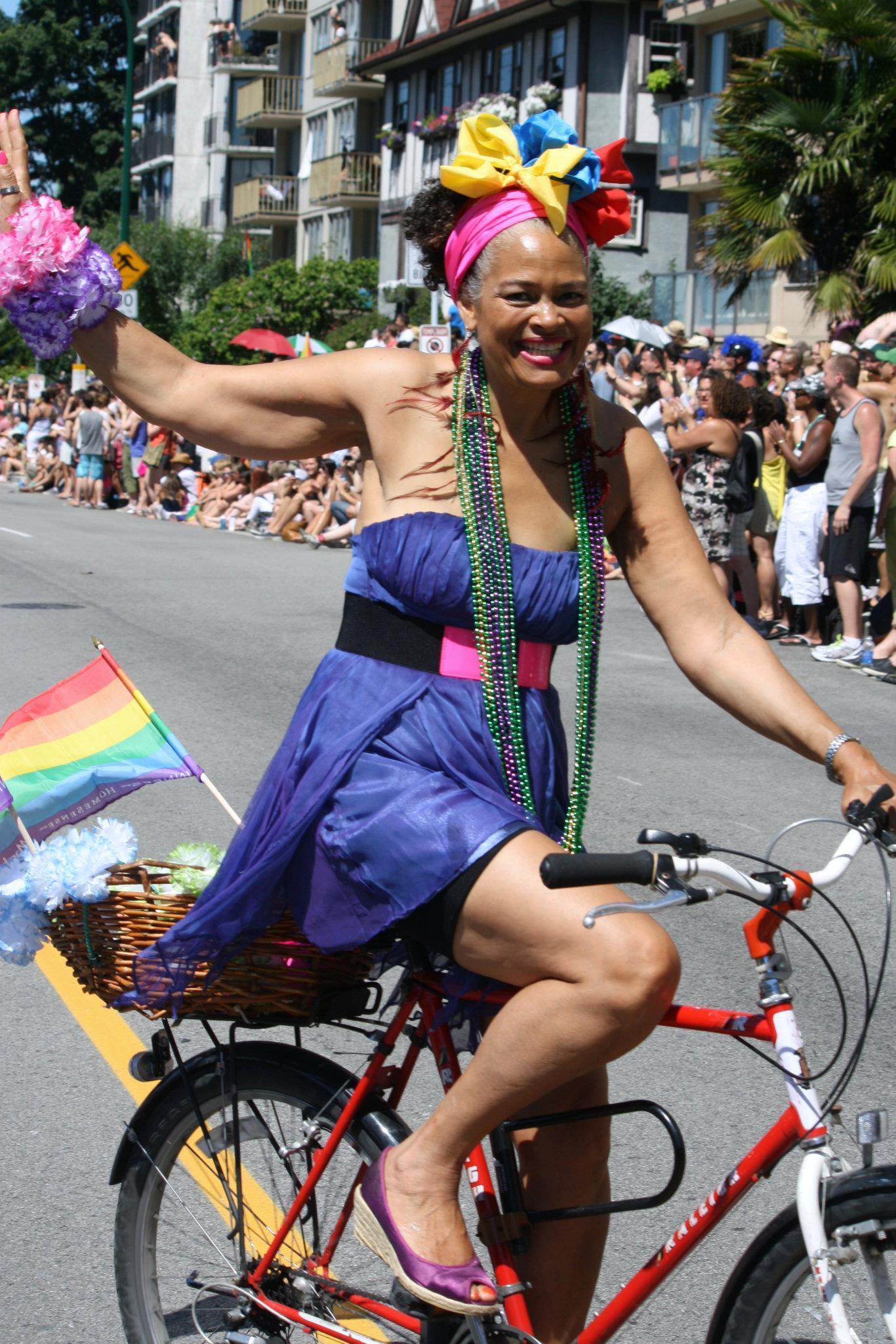 Constance at Pride