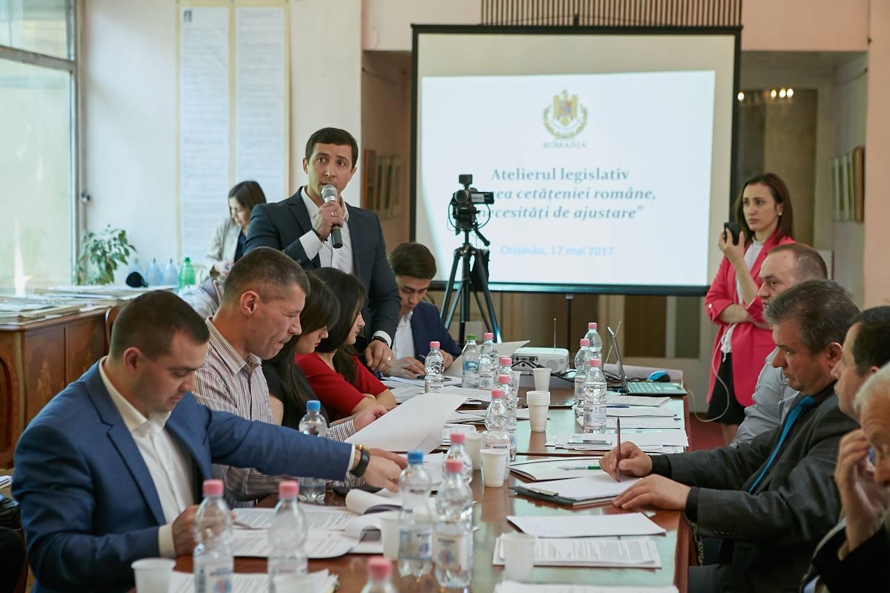 Atelier legislativ Constantin Codreanu Chisinau mai 2017