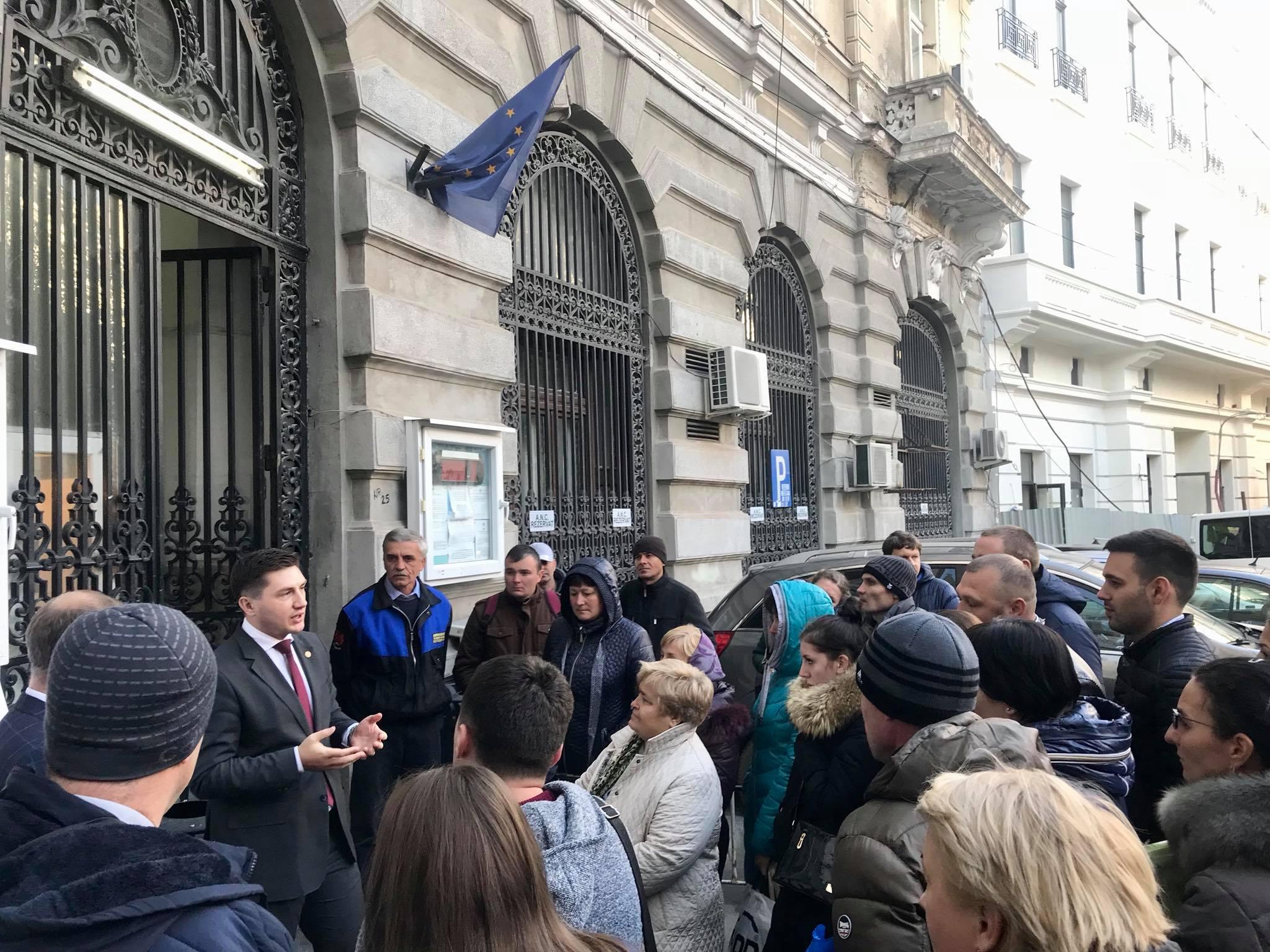 Constantin Codreanu la Autoritatea Nationala pentru Cetatenie