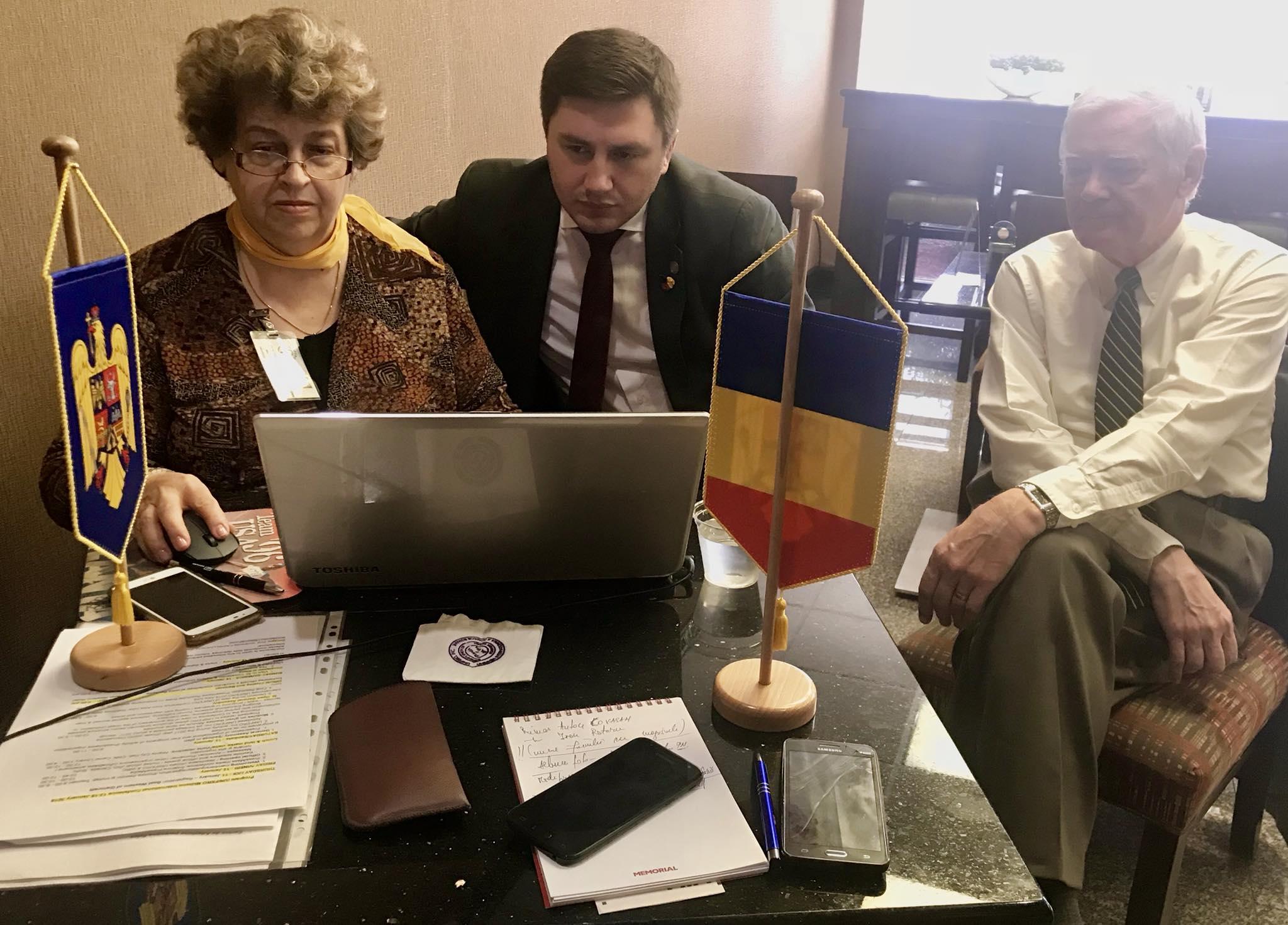 Constantin Codreanu Consiliul Mondial Român World Romanian Council