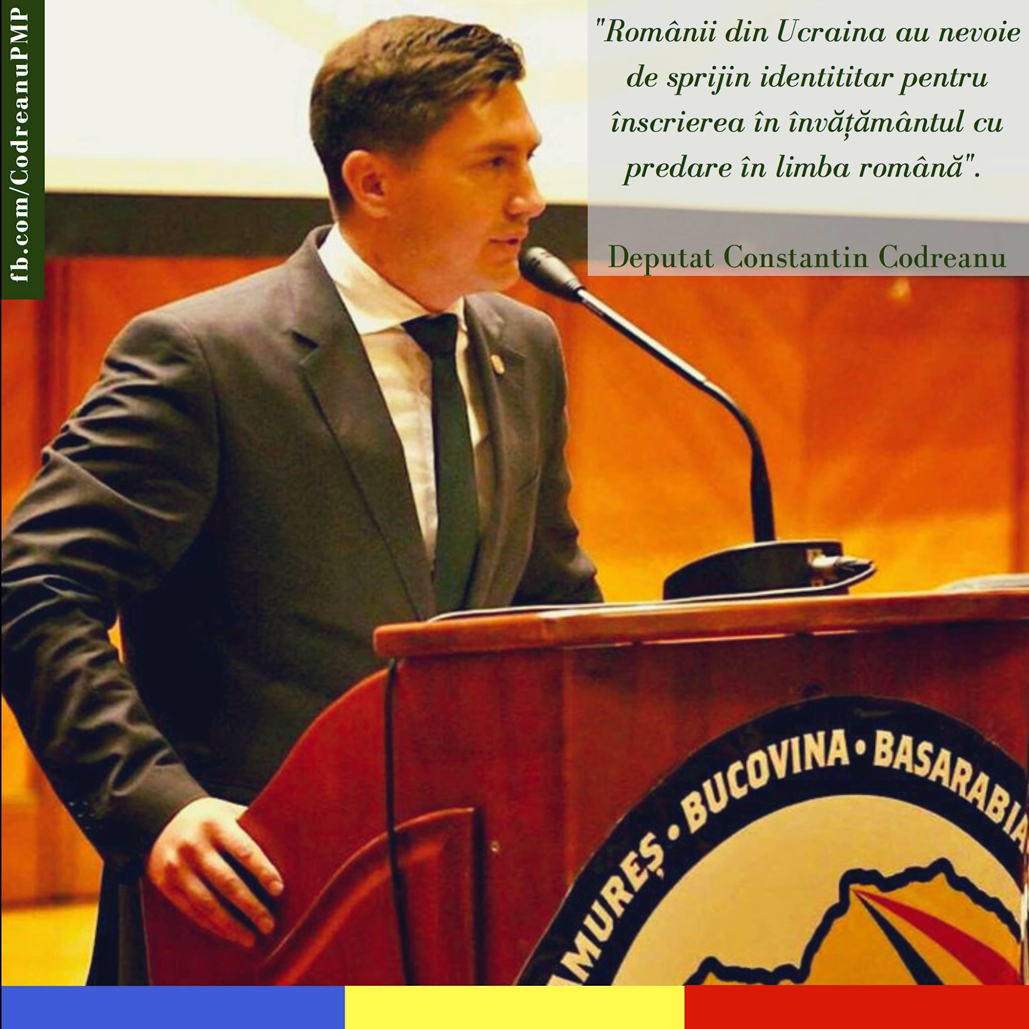 Constantin Codreanu Românii din Ucraina