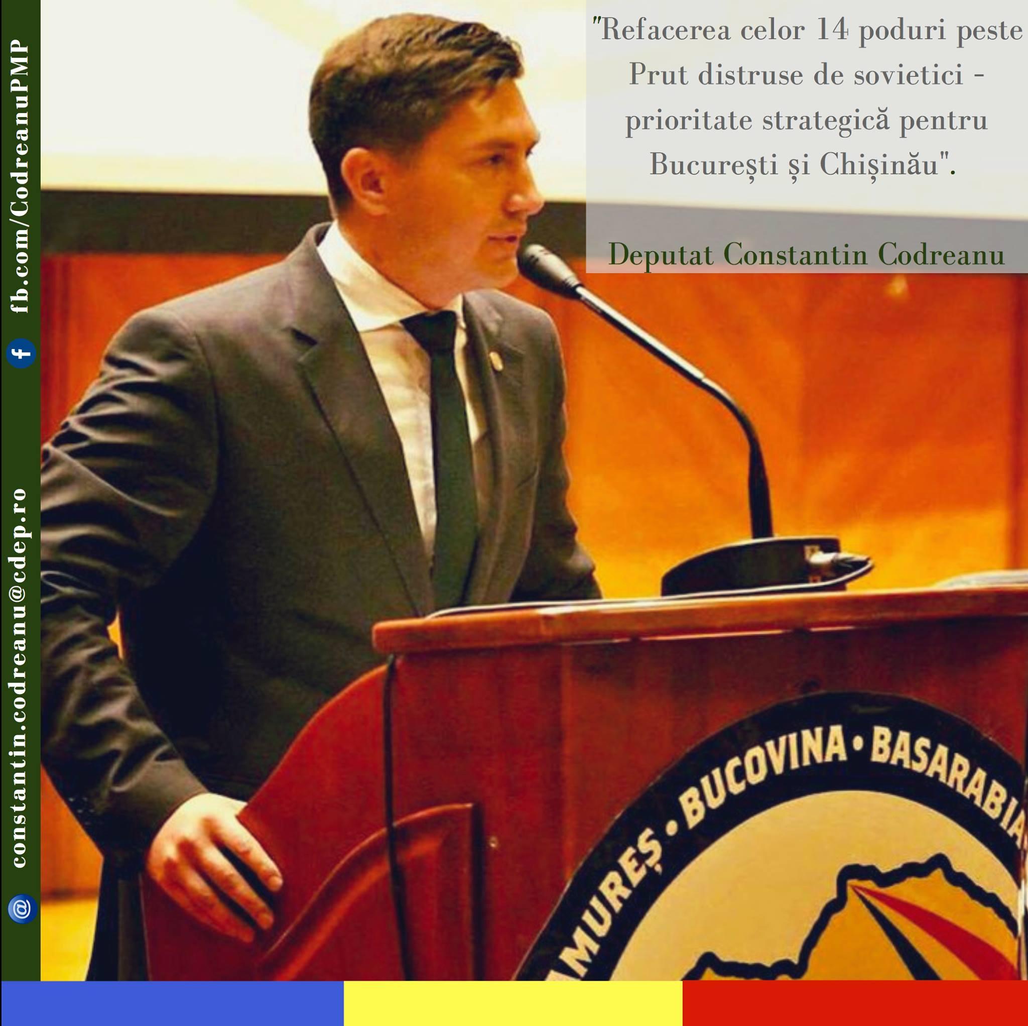 Declarație politică Constantin Codreanu