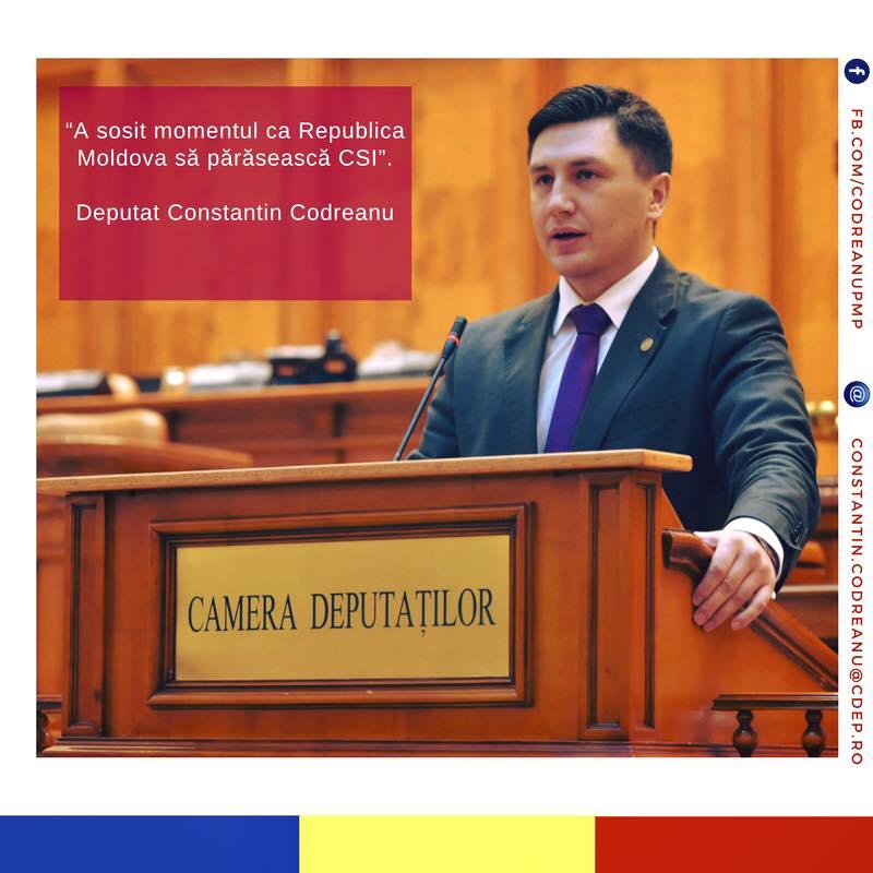 Republica Moldova CSI Constantin Codreanu