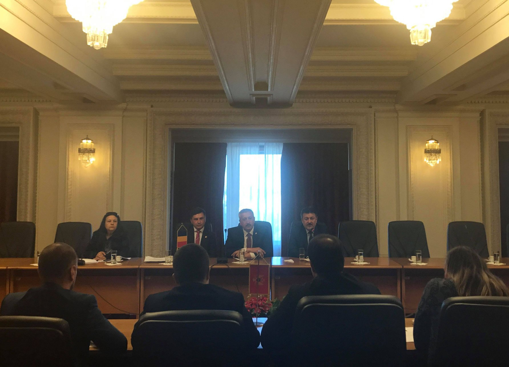 Constantin Codreanu vizita delegatie Parlament Montenegro