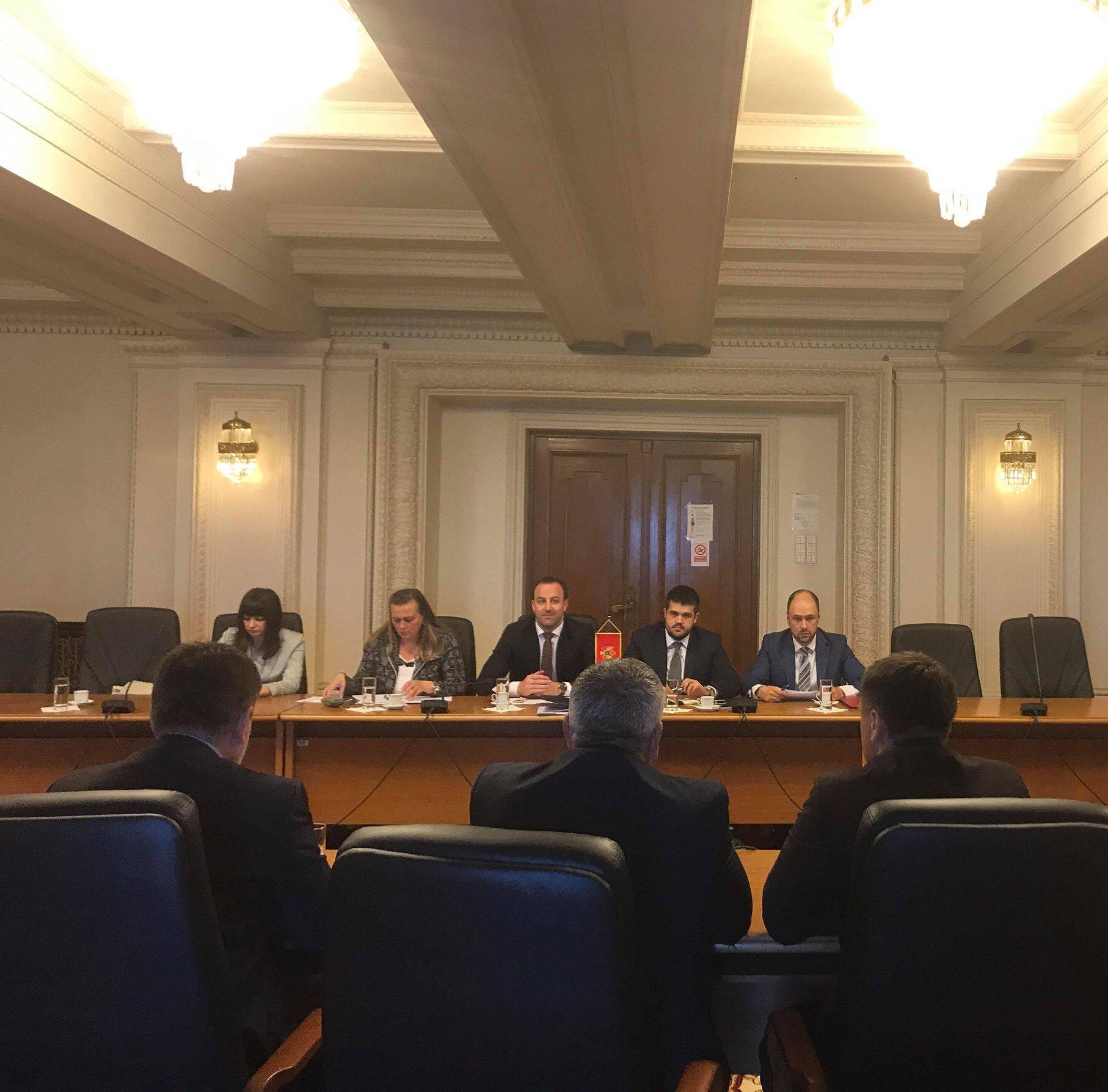 Constantin Codreanu deputat delegatie Parlament Montenegro