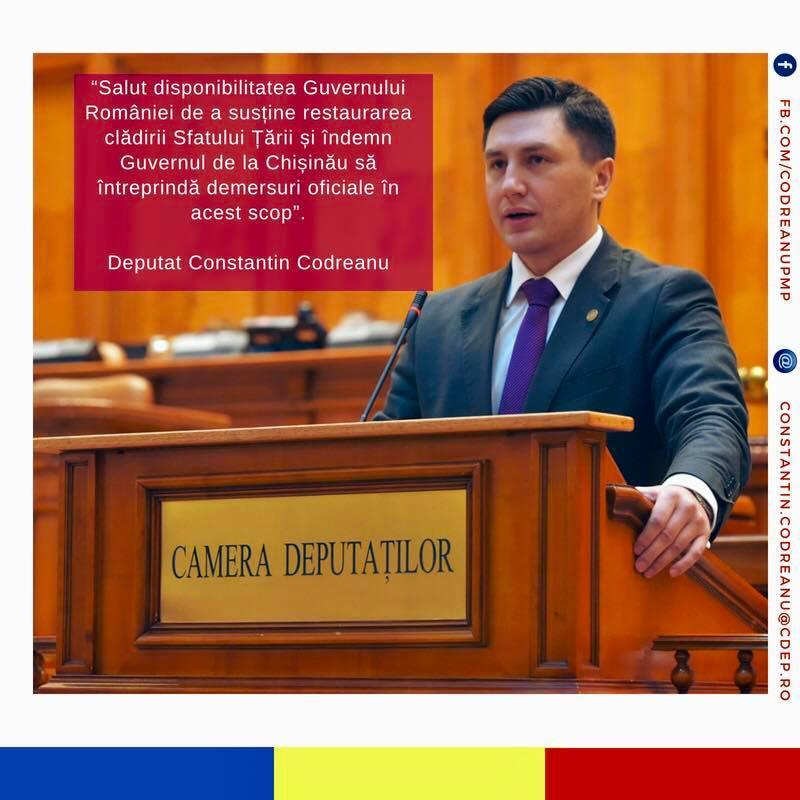 Constantin Codreanu Guvernul Romaniei Sfatul Tarii