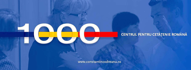 Constantin Codreanu Centrul pentru Cetățenie Română