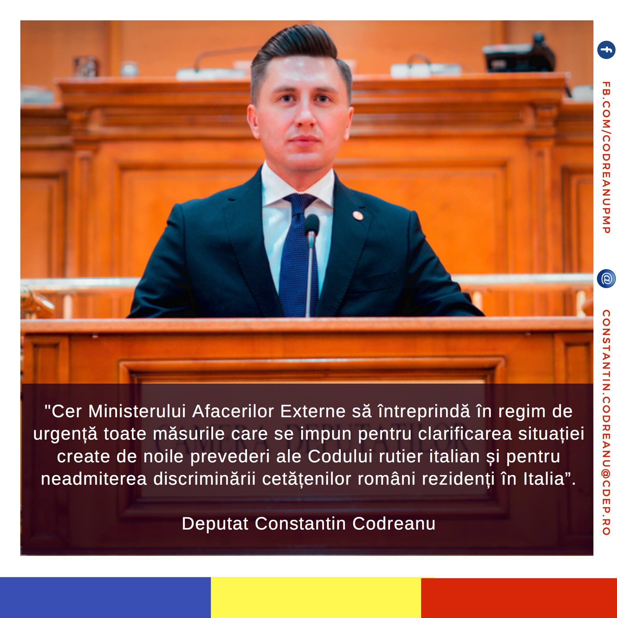 Constantin Codreanu Codul Rutier Italian