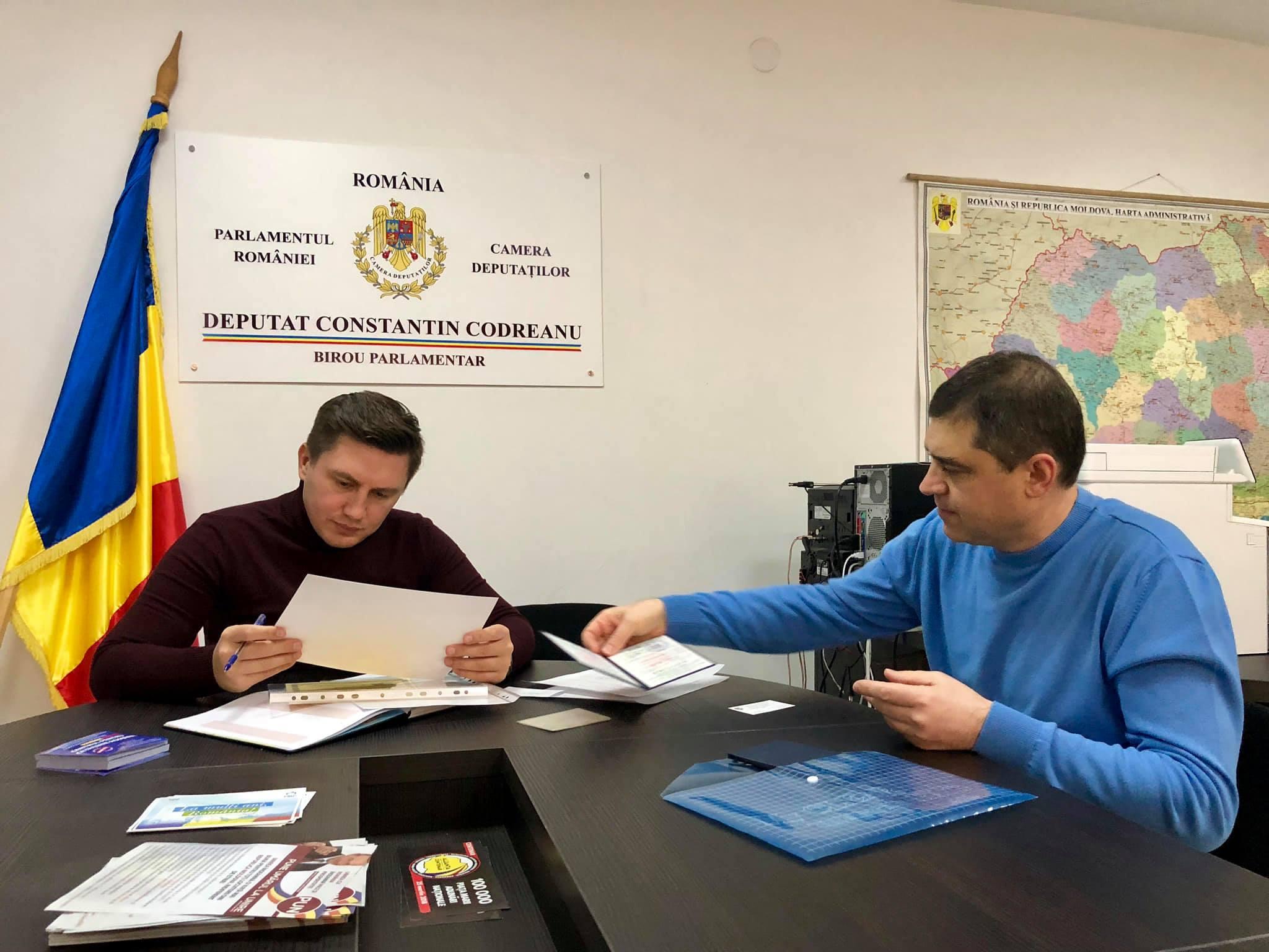 Birou Parlamentar Constantin Codreanu medici
