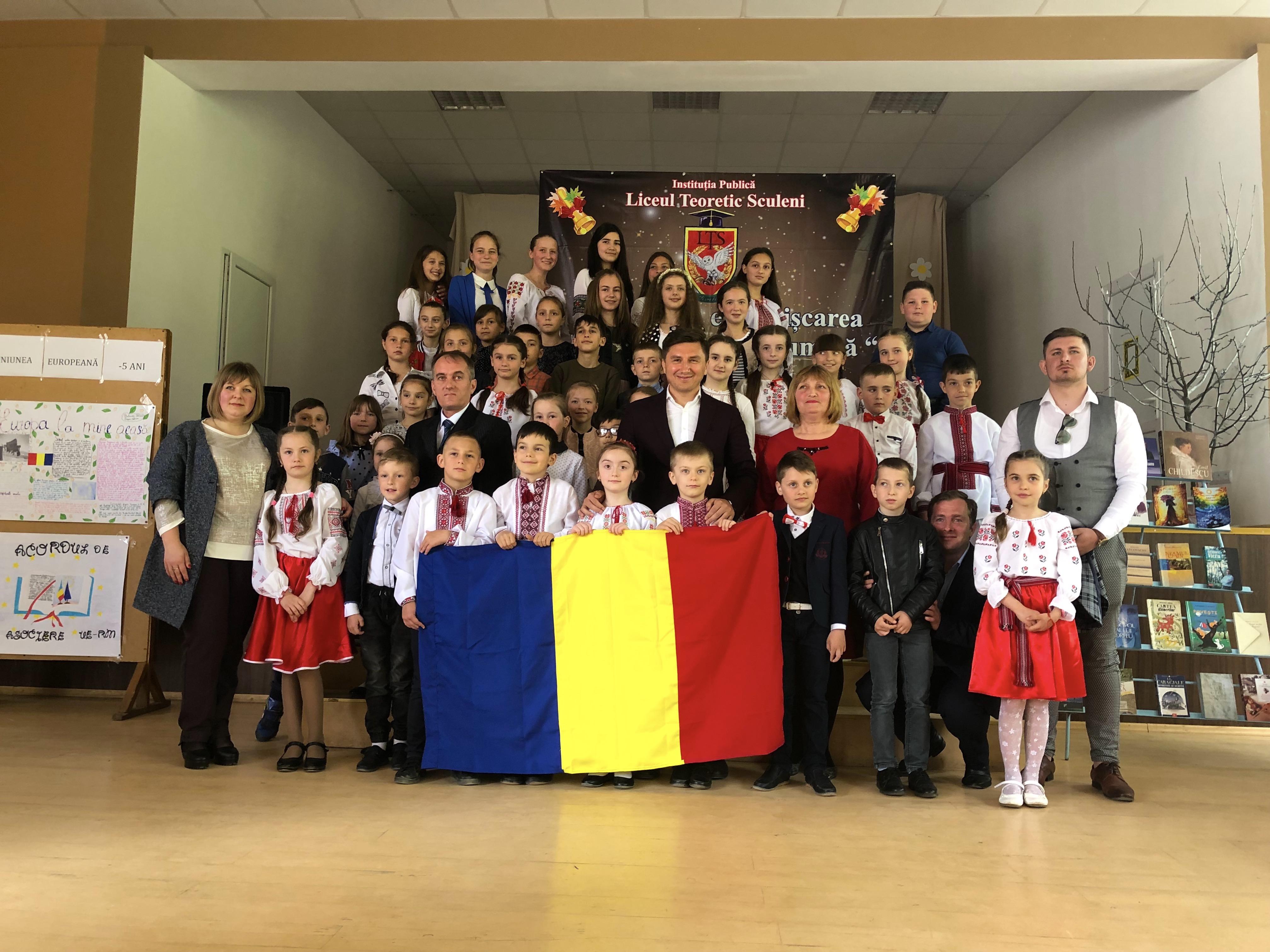 Donatie carte Ungheni Constantin Codreanu