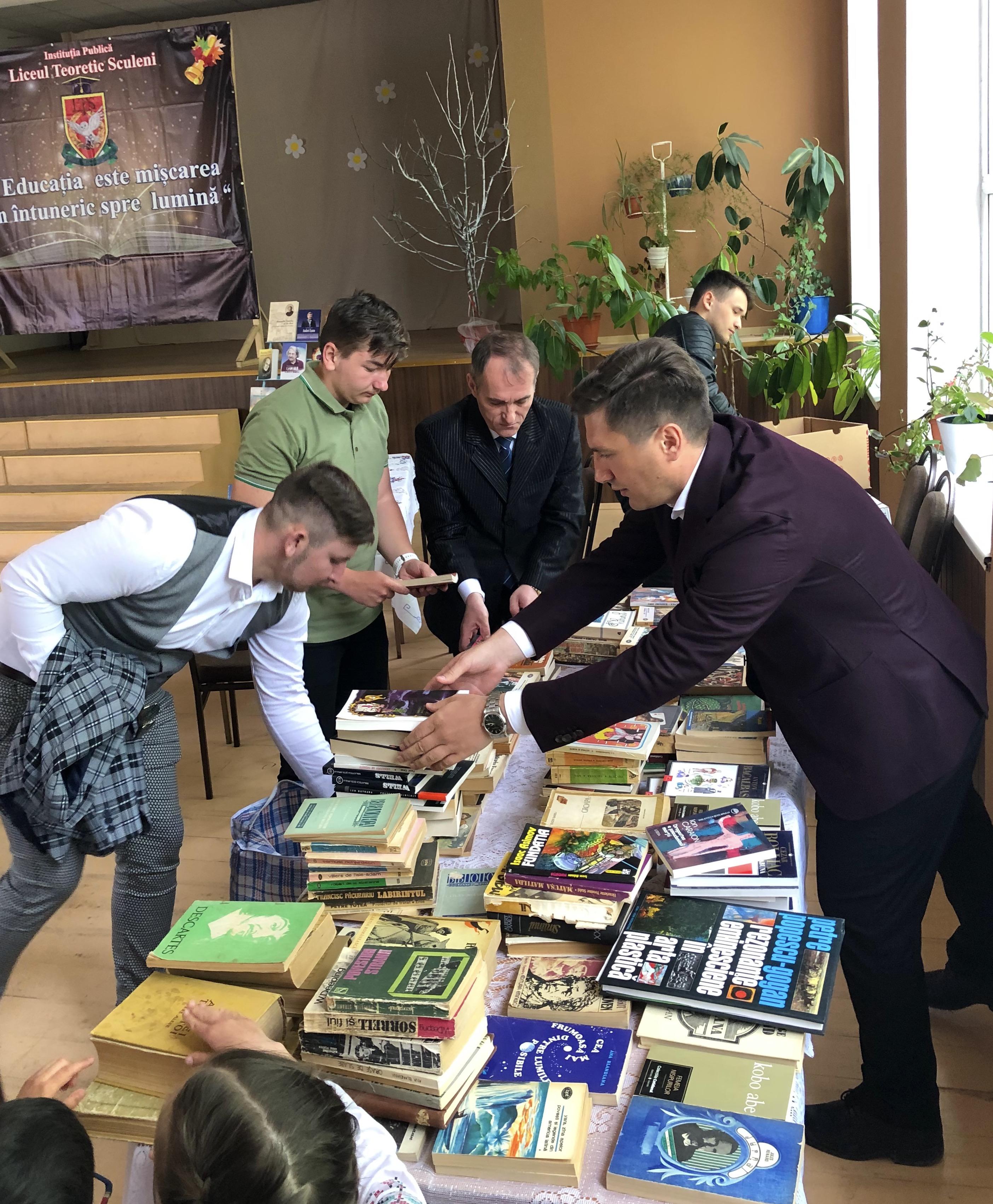 Constantin Codreanu donație