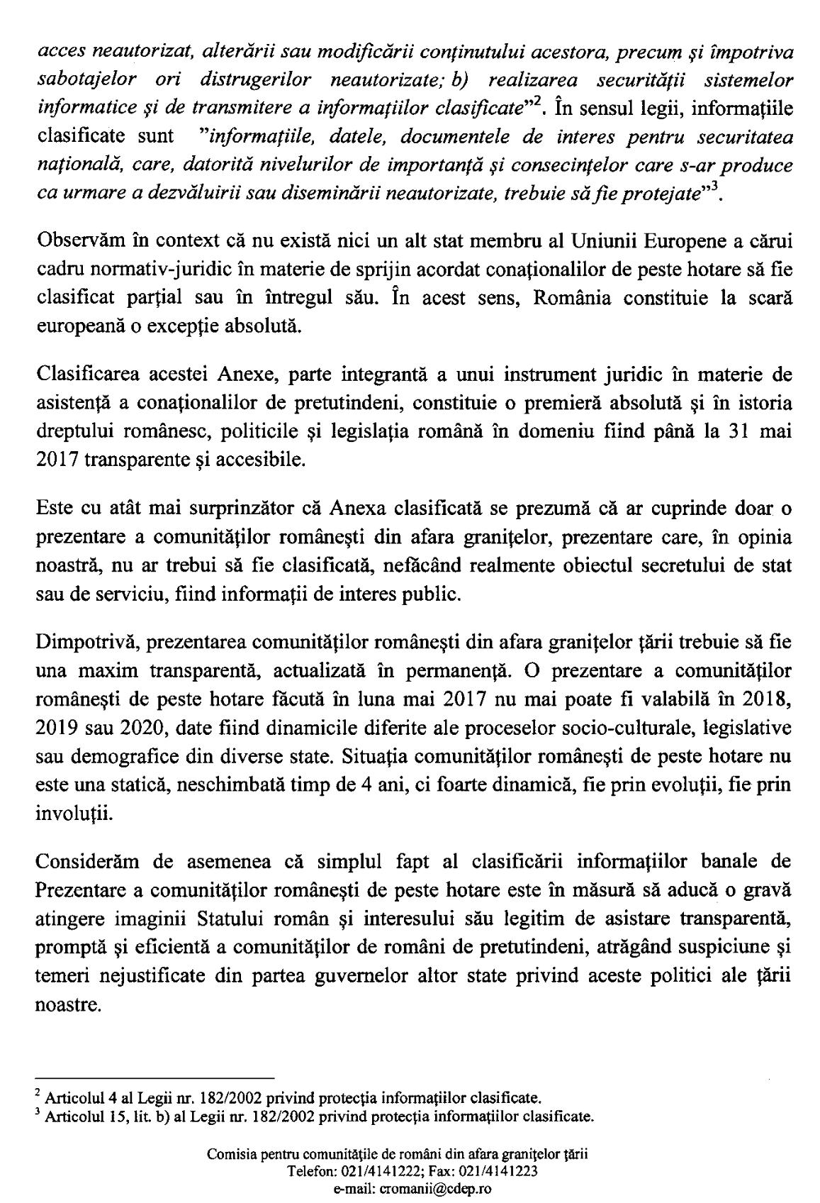 Interpelare Constantin Codreanu Parlament