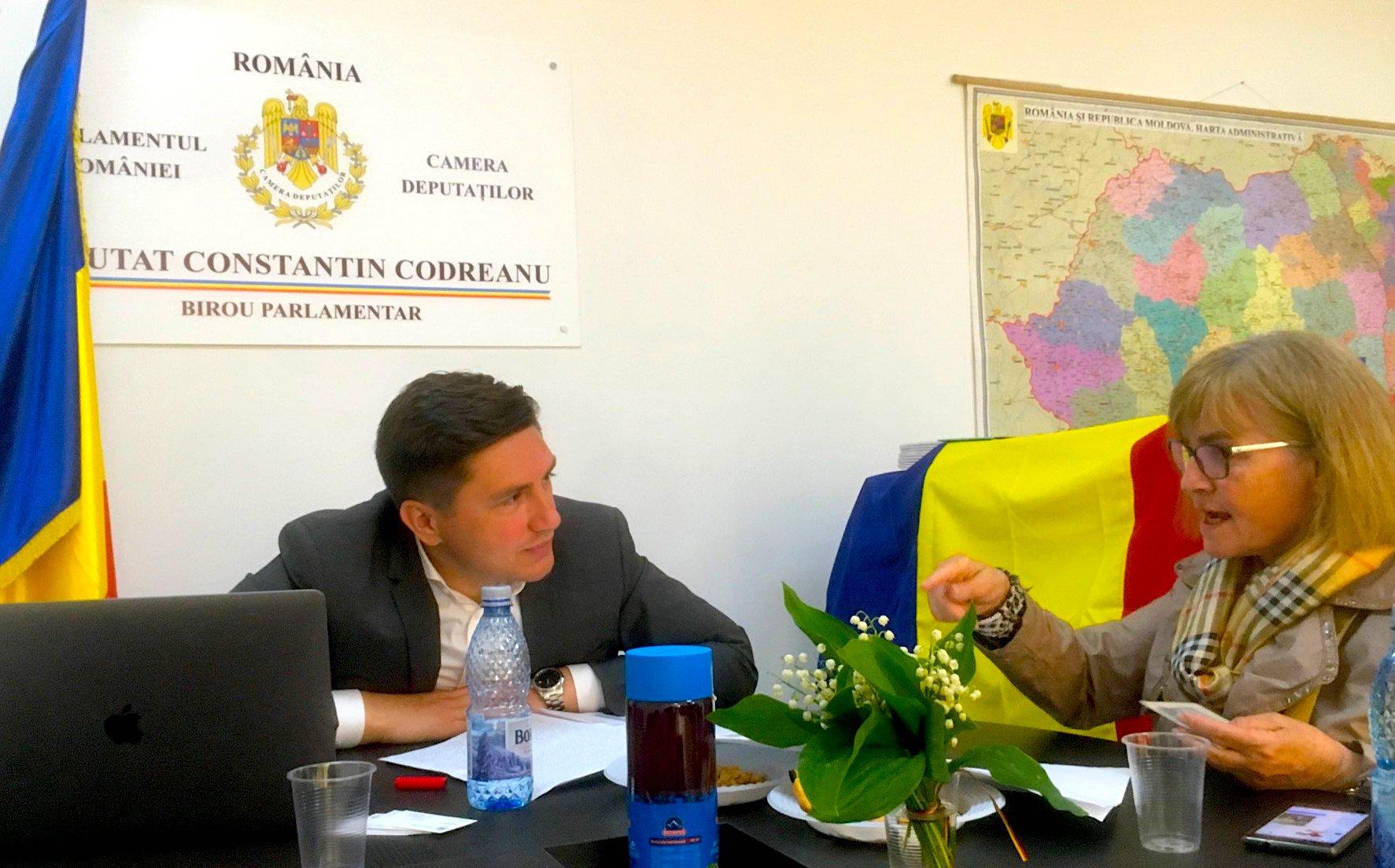Constantin Codreanu Birou Parlamentar