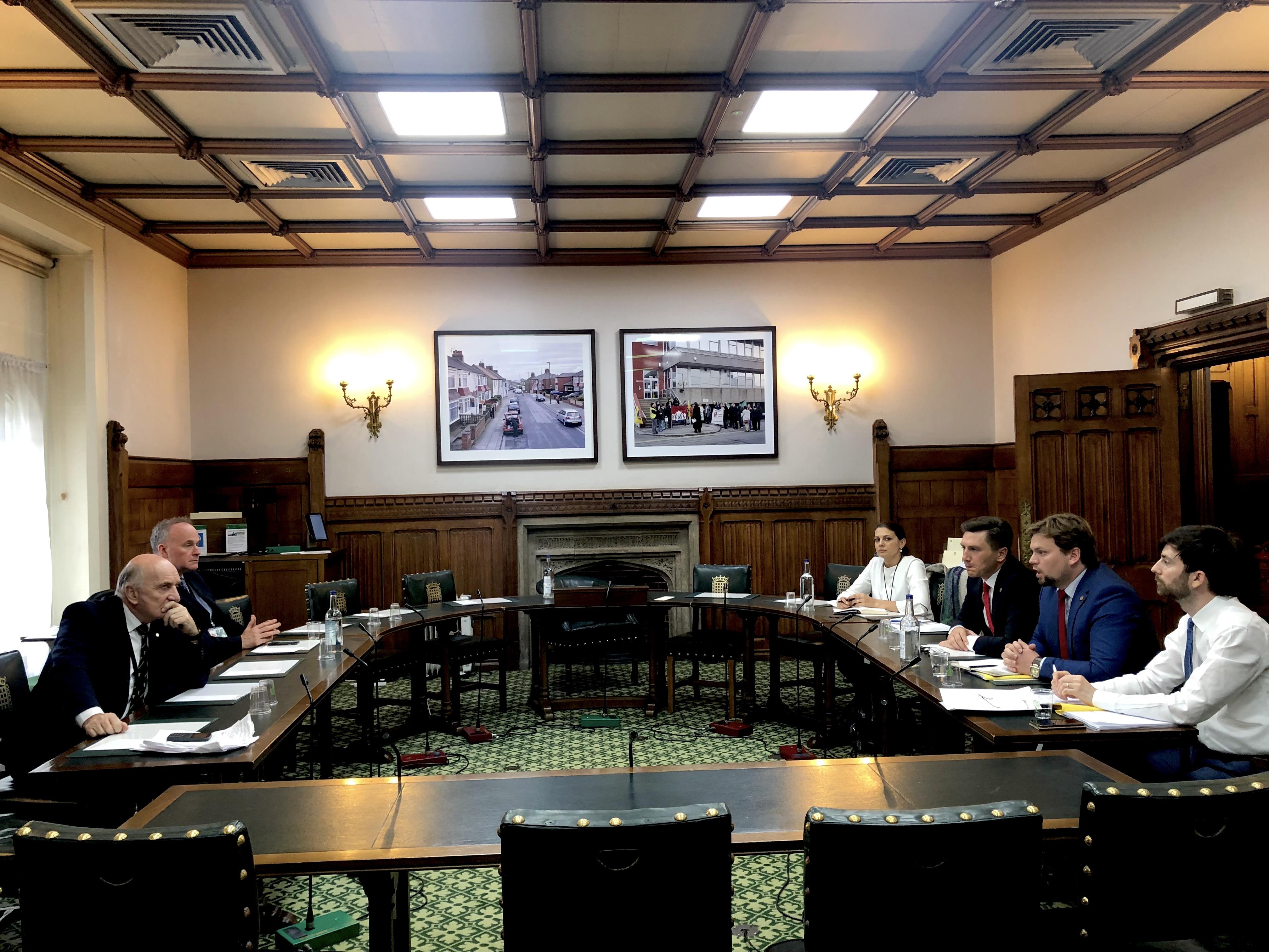 Parlament Londra Constantin Codreanu