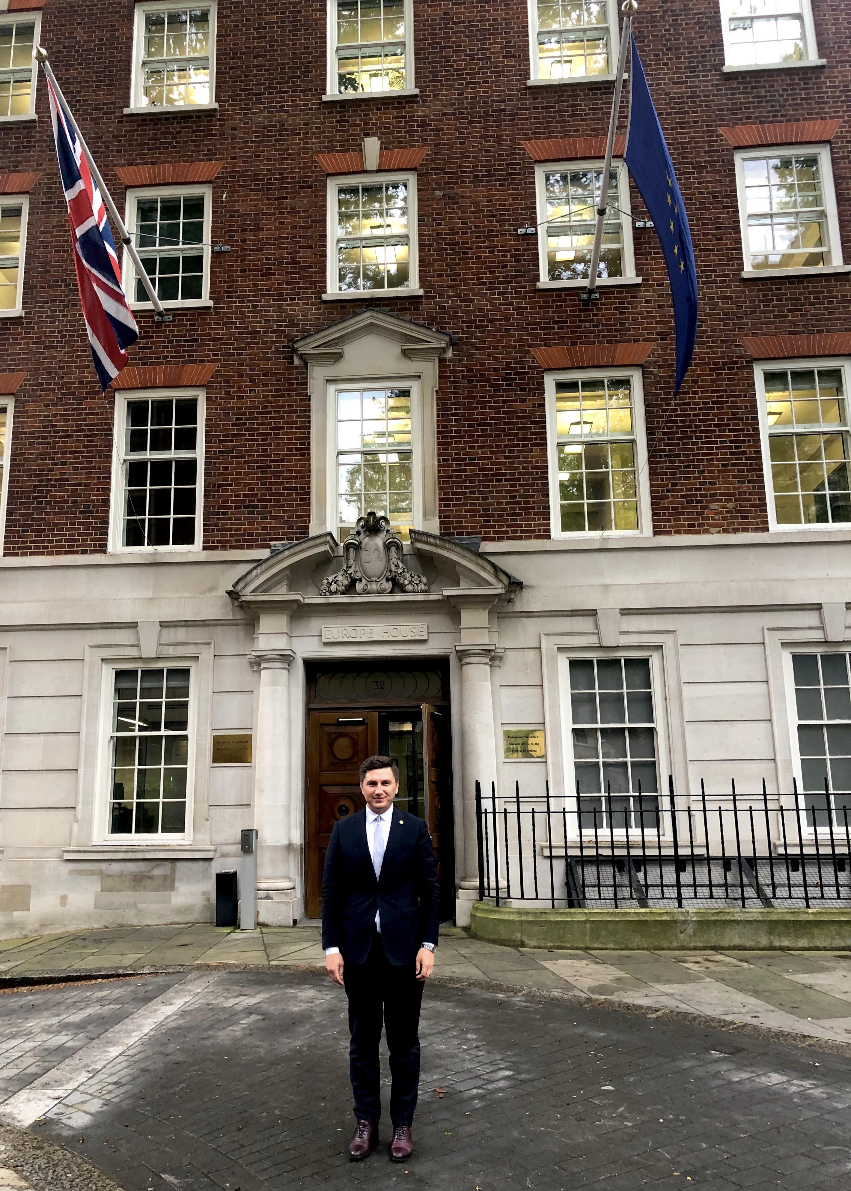 Constantin Codreanu Ziua Europei Europe House
