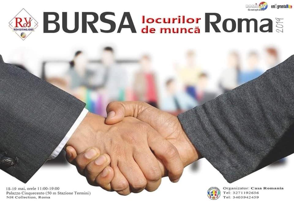 Bursa locurilor de munca Roma