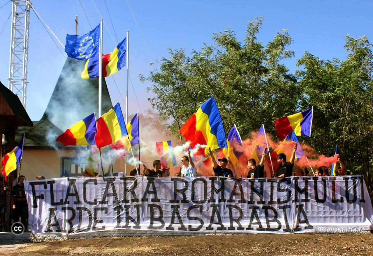 Flacara romanismului arde in basarabia