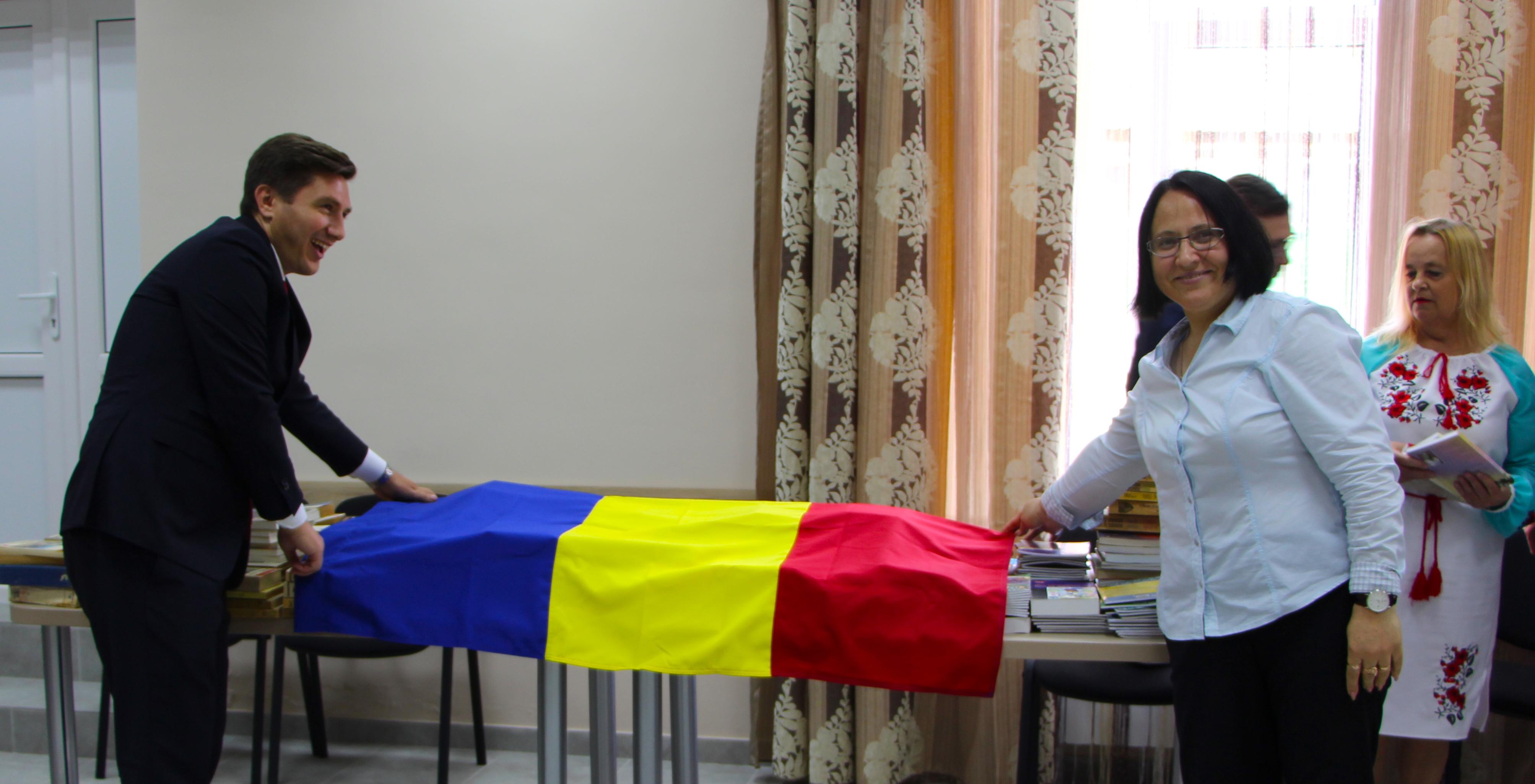 Constantin Codreanu Regina Maria Ungheni