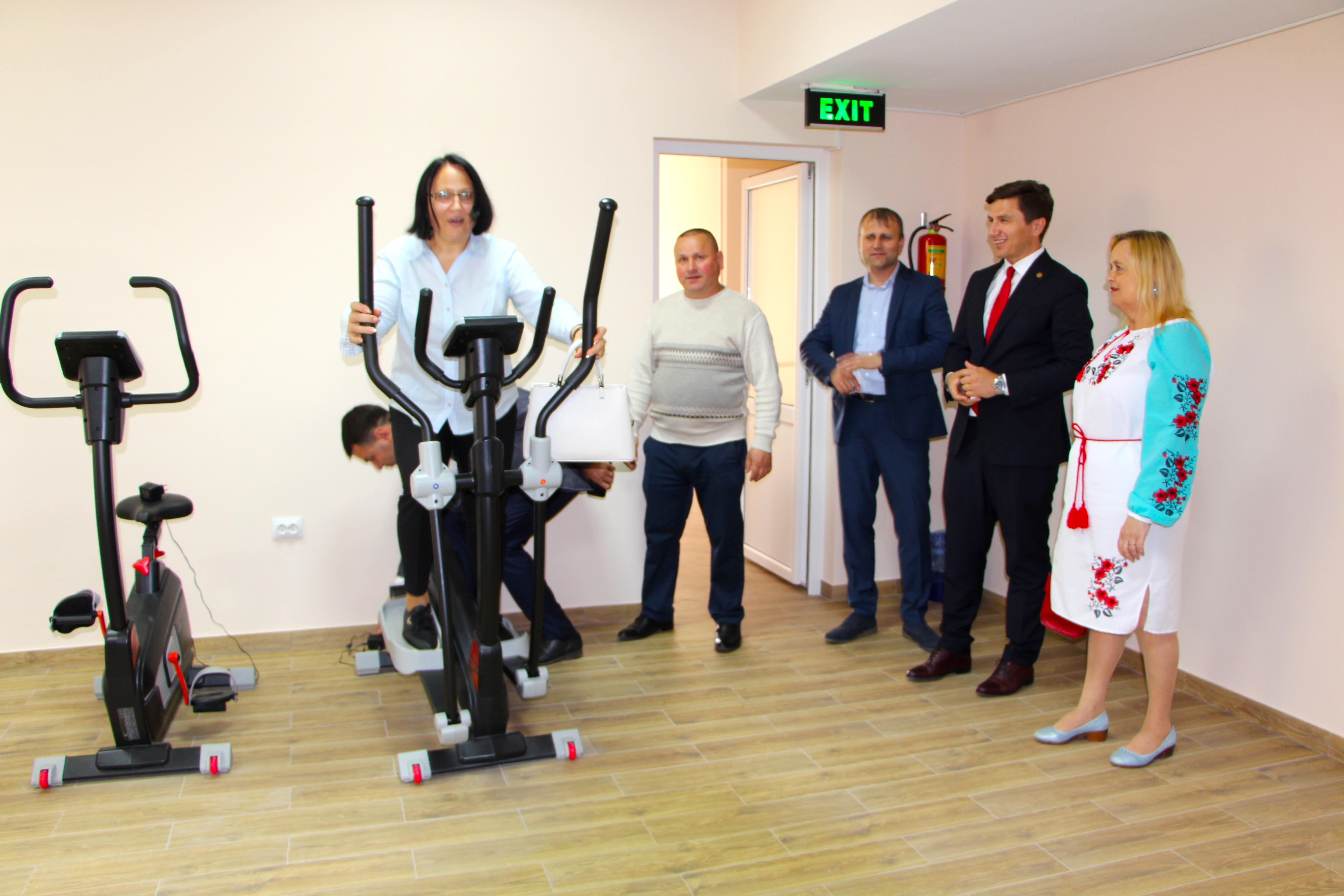 Constantin Codreanu Regina Maria Ungheni Centrul Fitness