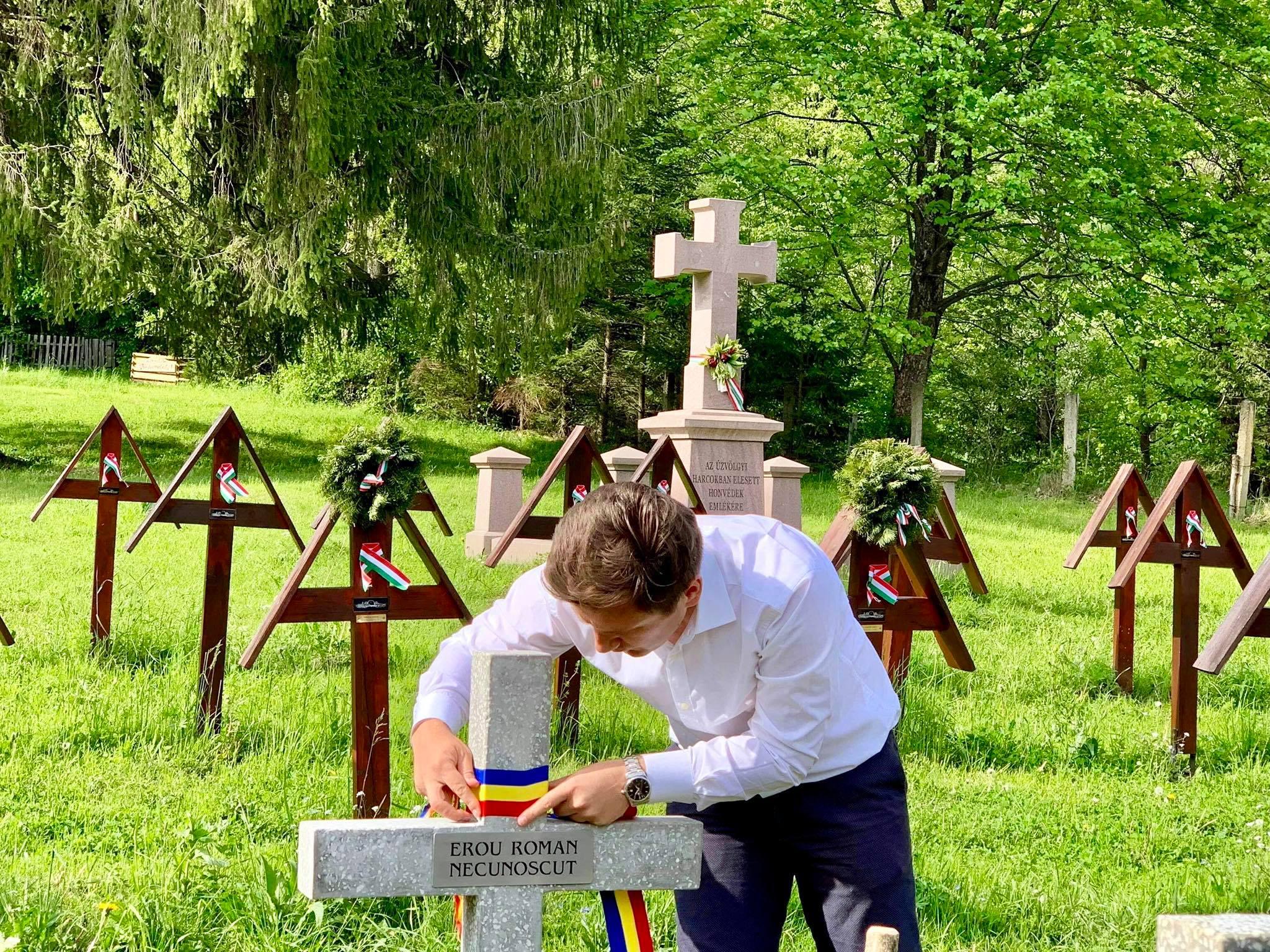 Constantin Codreanu Valea Uzului Panglici tricolor