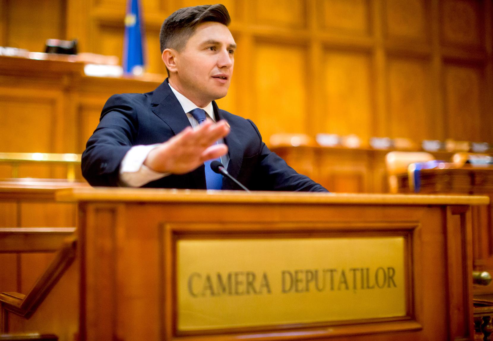 Constantin Codreanu Parlament Interpelare