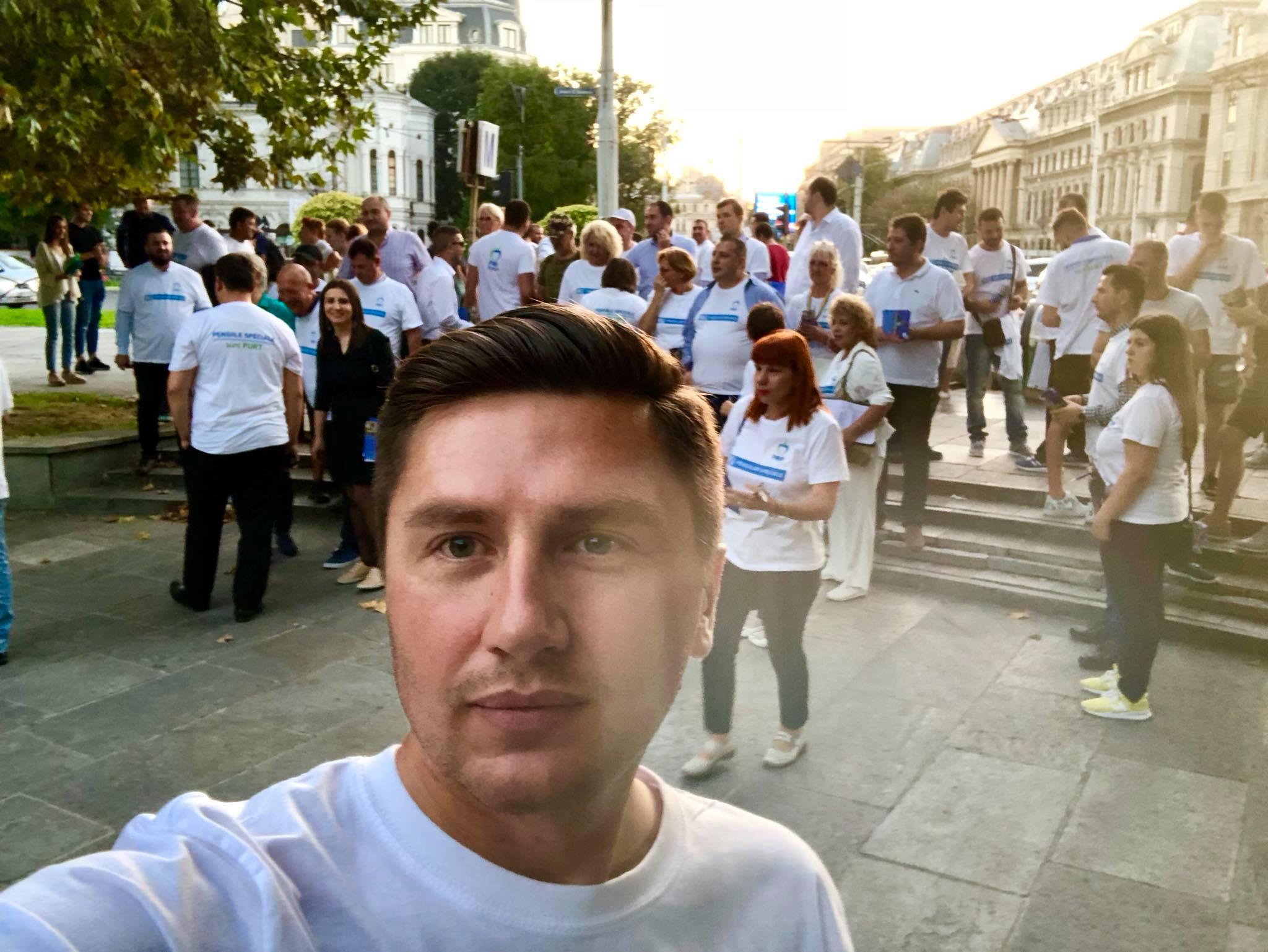 Constantin Codreanu Campania fara pensii speciale pentru politicieni