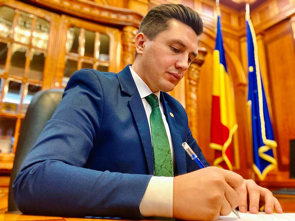 Constantin Codreanu Intrebare parlamentara