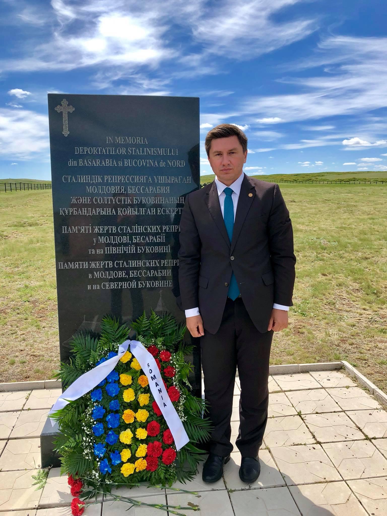 Deputat Constantin Codreanu Kazahstan
