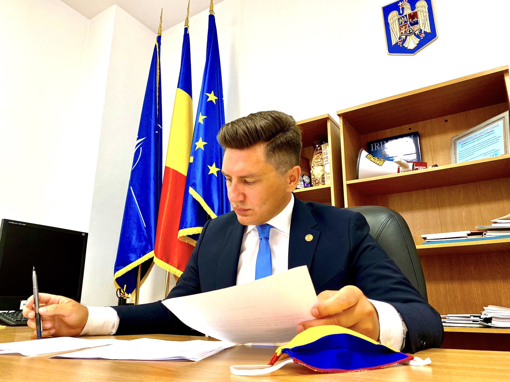 Constantin Codreanu Deputat Parlament