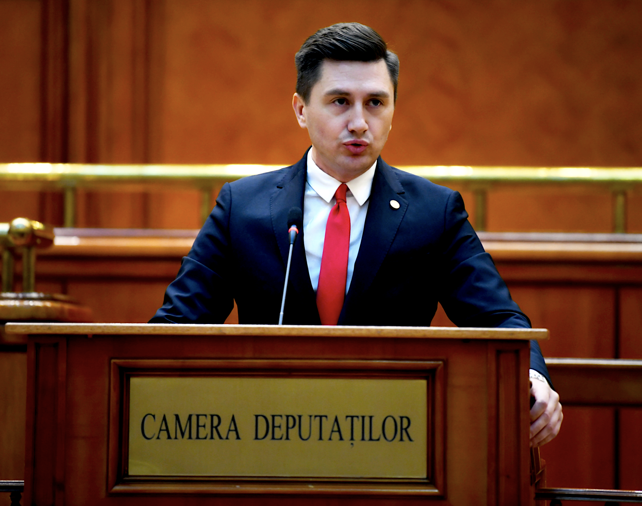 Constantin Codreanu Parlament