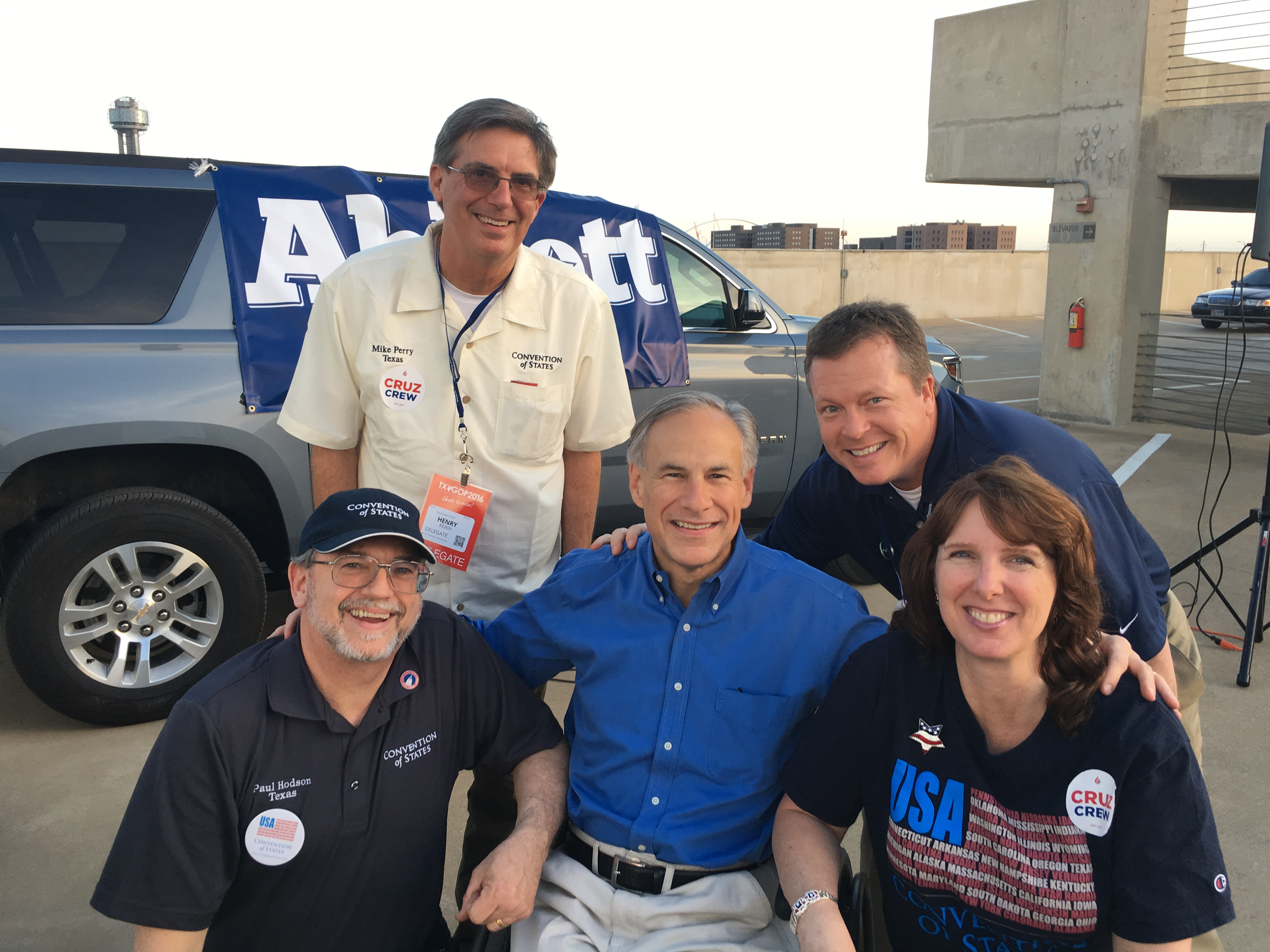 Governor_Abbott_with_COS_Volunteers_Mike_Perry__Bill_Ely__Paul_Hodson__Michelle_Hodson.JPG