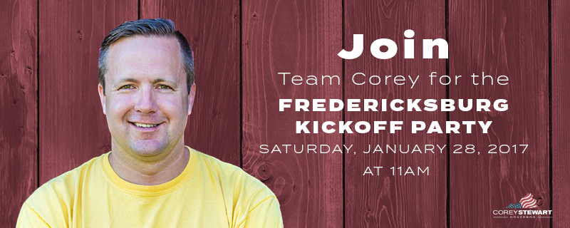 Fredericksburg Kickoff!
