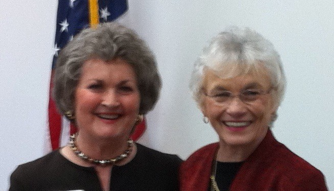 Sue Ella Deadwyler and Anne Perry