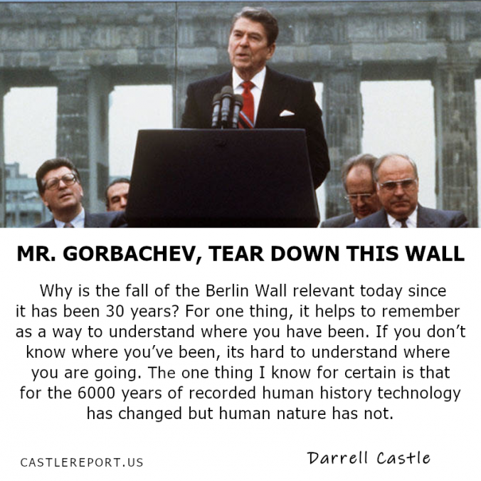 Mr. Gorbachev, Tear Down This Wall!