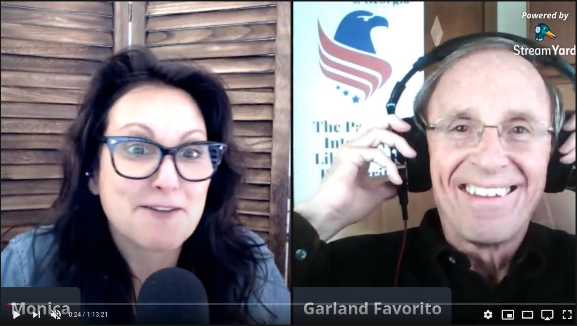 Monica Perez Interview with Garland Favorito